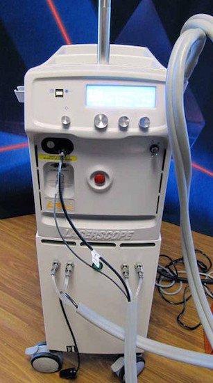 Neodimio Yag 1064nm impulso lungo Lyra Laserscope